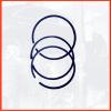 Комплект поршневых колец для LA-330/460